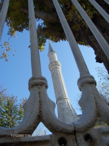 The Haga Sofia mosque, former Byzantine Empire cathedral, Istanbul, Turkey, by Scott Ufford